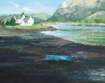 Blue Boats, Plockton