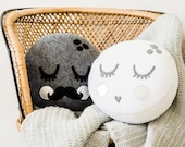 Piccolo Moonface Cushion Pattern - PDF - 2 styles included