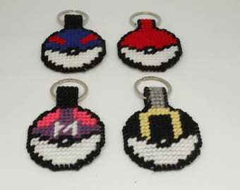 Pokeball Luggage Tags