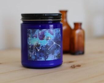 AQUARIUS SPEARMINT + GARDEN, 8 oz soy candle - Glint Candles