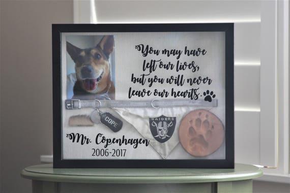 Like this item? & Dog Memorial Pet Memorial Pet Memorial Shadow Box Dog Aboutintivar.Com