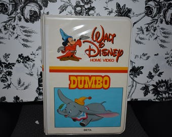 Rare Vintage Walt Disney Home Video Dumbo Beta 24BS Beta NTCS