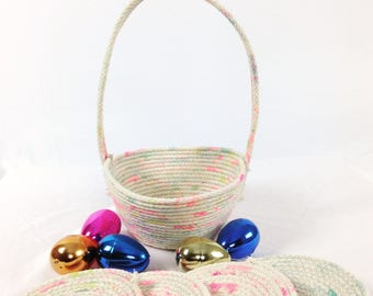 Cotton Rope Easter Basket