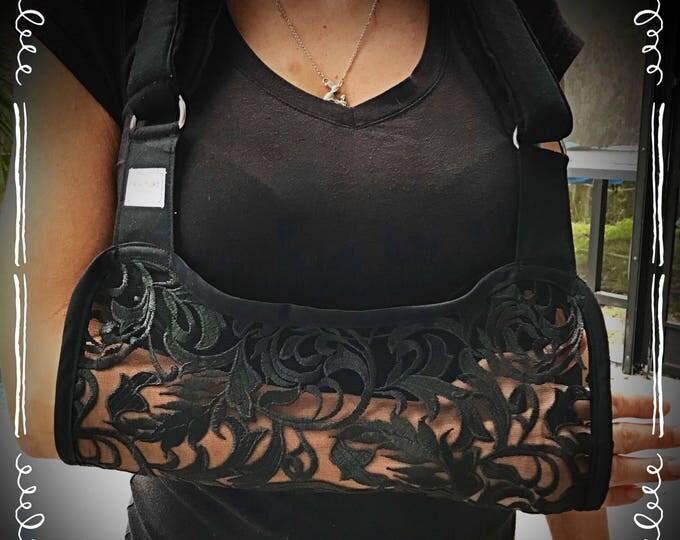 Elegant Cut Out Lace Arm Sling - Child arm sling - Adult arm sling