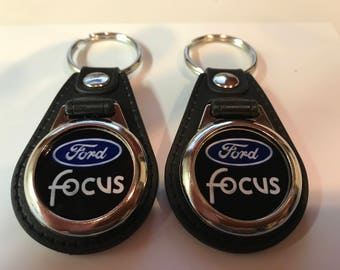 FORD FOCUS KEYCHAIN set 2 pack