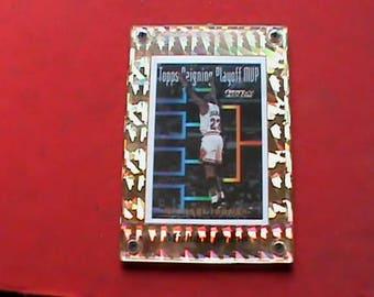 Vintage Michael Jordan 1994  Topps Reigning Playoff MVP Topps Gold basketball card
