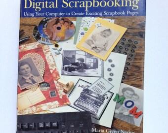 Digital Scrapbooking by Computer Scrapbooking Tutorial Lessons Guide on DIY Scrapbooking Online, Computer DIY Destash Saving Family Memories