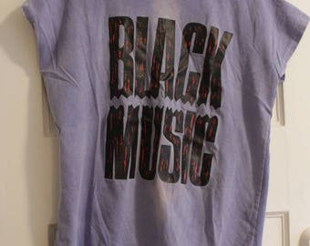 Black Music 80's Sleeveless