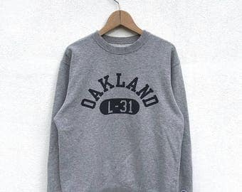 20% OFF Vintage Champion Oaklay C Logo Sweatshirt / Champion Sweater / Champion C Logo / Champion Clothing / Champion Spellout