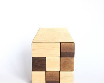 Natural Maple & Walnut Block Set