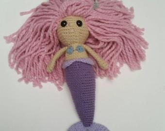 Mermaid Amigurumi Crochet Doll