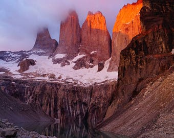 Las Torres - Photography, Chile, Patagonia, Torres del Paine