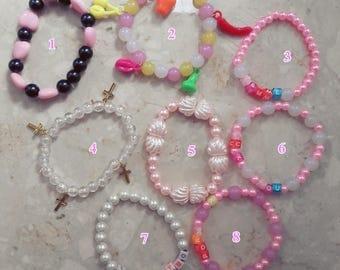 Pastel bracelets fairy kei kawaii