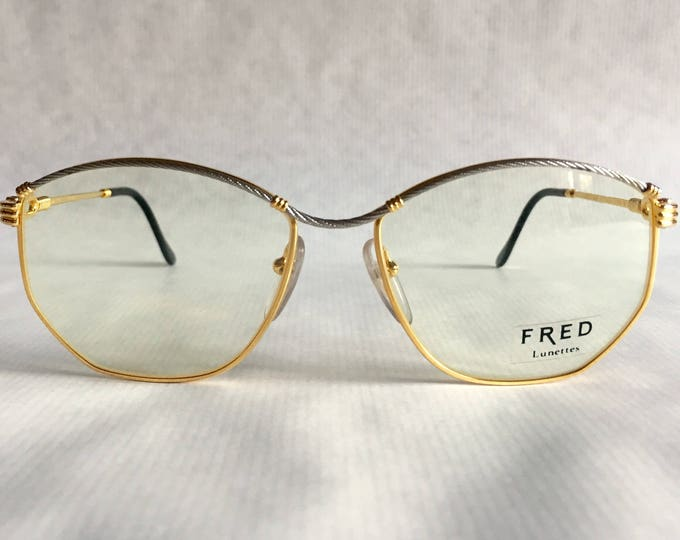 Fred Cythere Force 10 Vintage Eyeglasses Made in France New Old Stock including Case