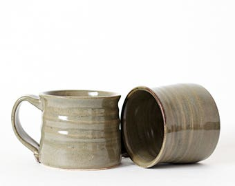 Pottery Mug Set - Ceramic Mug Set - Pottery Coffee Cup - Ceramic Coffee Cup