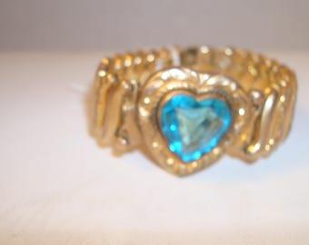 Vintage expandable sweetheart bracelet