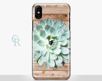 Succulent iPhone SE Case For iPhone 8 iPhone 8 Plus - iPhone X - iPhone 7 Plus - iPhone 6 - iPhone 6S - iPhone SE - Samsung S8 - iPhone 5