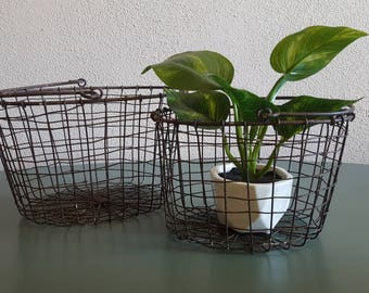 2 Wire Nesting Baskets