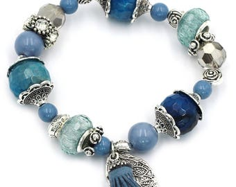 Summer ice bead bracelet