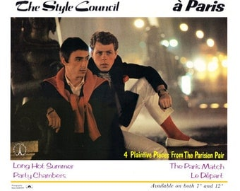 The Style Council Poster