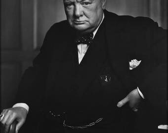 Poster, Many Sizes Available; Sir Winston Churchill P1