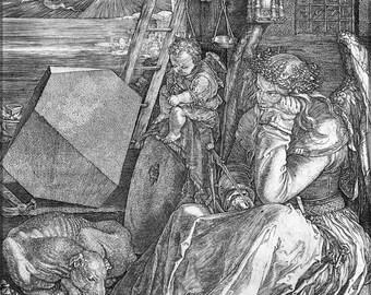 Poster, Many Sizes Available; Melencolia I, 1514, Albrecht Dürer Engraving