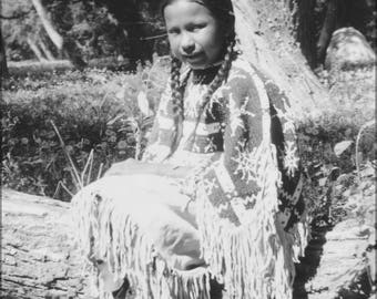 Poster, Many Sizes Available; Indian Girl Dressed In Native Costume Nara 285542