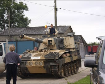 Poster, Many Sizes Available; Abbot Tank Spg2