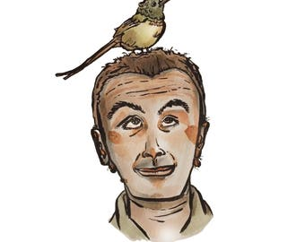 Bird on Head 2