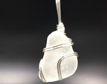 Beachglass pendant