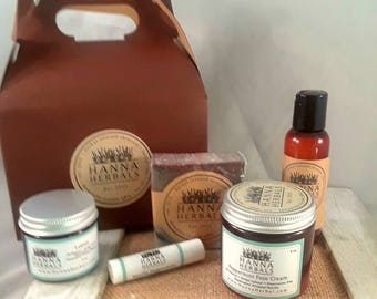1 Month Subscription Box - Dogwood Ginger - trial size - monthly box - samples - organic skincare set - Gift Idea