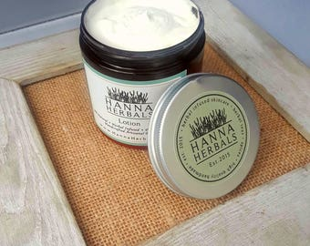 All Natural Lotion - Rich and Creamy lotion - dry skin relief - Amber Noir - Lavender - Rose - Sandalwood - Vanilla - Mayan Gold Lotion