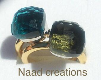 """Tipo """"Nudo"""" ring 14 carat gold."""