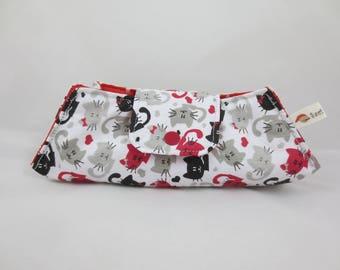 Glasses case - cats fabric