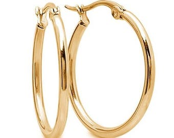 Goldfilled earring hoops