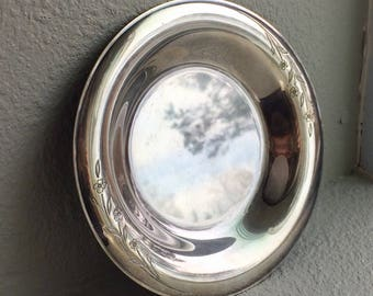 Rogers Brothers Silverplate Small Serving Dish Springtime Pattern