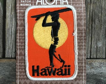 ONLY ONE! Hawaii Vintage Souvenir Travel Patch from Aloha Patch Works