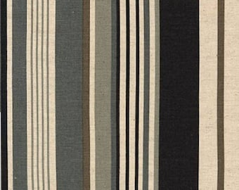 Canvas Fabric - Sevenberry Stripes - BTY