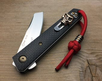 Custom Folding Knife, Böker Kwaiken Mini both