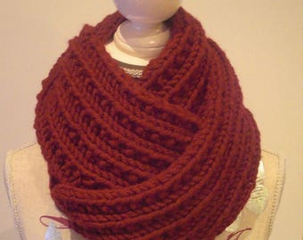 Beautiful Burgundy snood point original