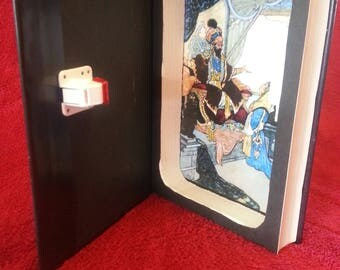 "Hollow Book Safe with Magnetic Lock ~ ""Arabian Nights"""