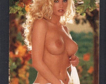 MATURE - Playboy Trading Card 1994 to 1996 update - Playmate Of The Year Gold Foil Insert - Brande Roderick #2PY