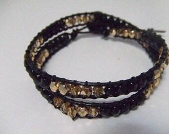 Chan Luu 2 laps style wrap bracelet