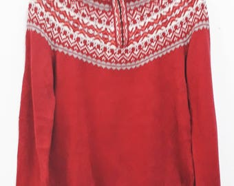 Vintage LL BEAN Knit Sweatshirt