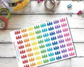 CLEARANCE SALE B1 Work Meeting Conference Stickers for Erin Condren Life Planner/Plum Planner - set of 64