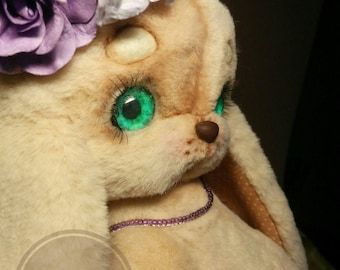 Teddy  bunny style by Zanina Julia (za_nusha). Soft plush toy.