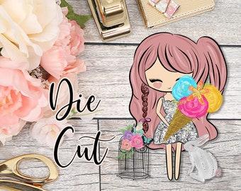 Die Cut- Cute Dolls- Spring Love