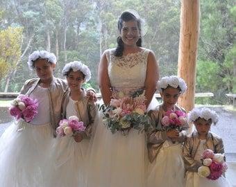 tutu, girls tutu skirt, ivory tutu, flower girl tutu, tutu dress, baby tutu, bridesmaids tutu, tulle girls tutu skirt, flower girl dress