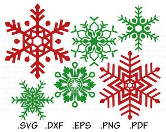 Snowflake SVG, Snowflake Clipart, Christmas Snowflake SVG, Snowflake Vector, Snowflake Cricut, Snowflake Silhouette, Snowflakes SVG - CA486