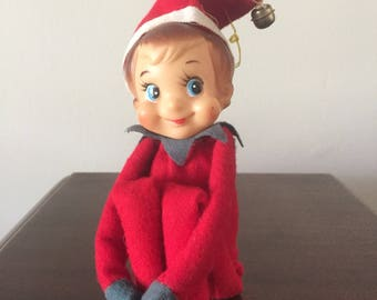 1960's Herman Pecker Christmas Elf